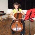 Muriel, violoncelle