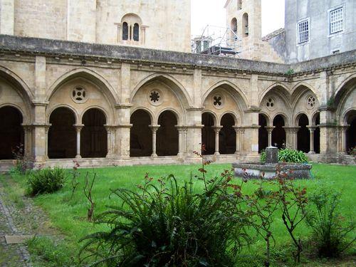 Coimbra-Sé et son cloître