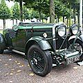 TALBOT AV 105 Brooklands Super Speed boattail Open Tourer 1934 Schwetzingen (1)