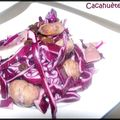 Salade de noël au magret