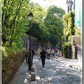 En promenade à Montmartre