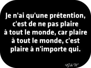 pretention