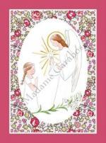 CF ange lys oval eloise rose liseré fuschia