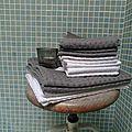 Coup de fraicheur dans la salle de bain