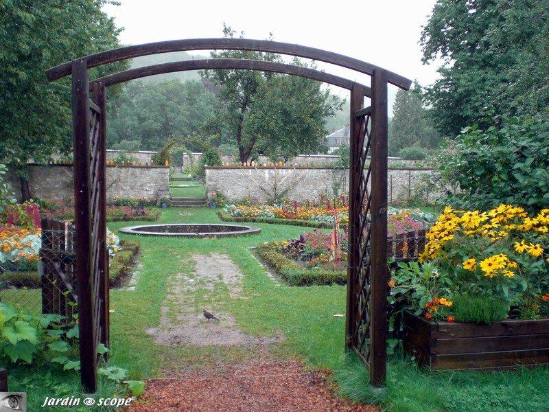 Entrée des jardins de Wesserling