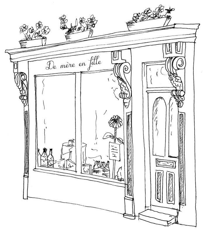 Boutique dessin