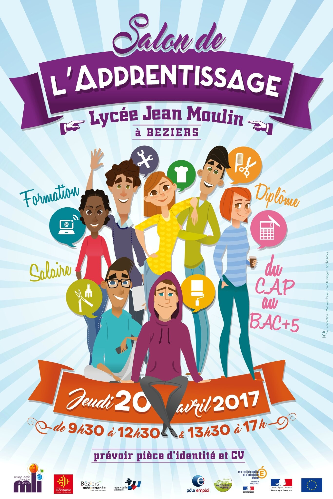 Jeudi 20 avril 2017 le salon de l 39 apprentissage au lyc e for Salon de l apprentissage
