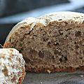Petit pain au café de gland de chêne