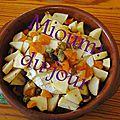 Camembert au four à la pomme
