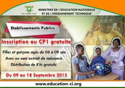 MENET/RENTREE SCOLAIRE 2015-2016: INSCRIPTION AU CP1