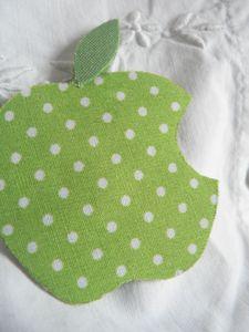 Pommes vertes détail