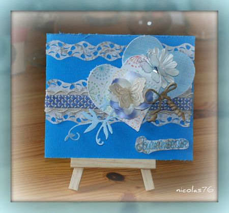 Carte scraplift de clotilde anniversaire cloclo