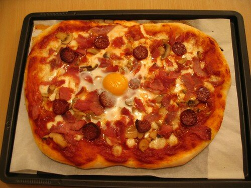 Pain n° 6: pizza!