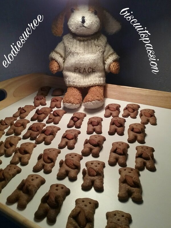 Minis Nounours aux amandes 034