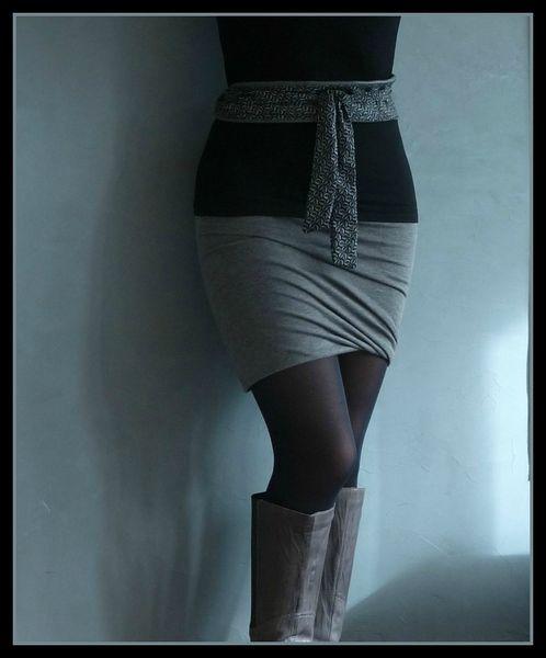 jupe drapée 4