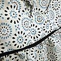 détail tunique Alycia