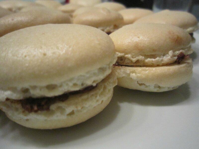 Macaron bounty près