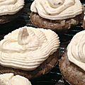 Mini-cupcakes tapenade et parmesan