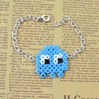Easy Perler Beads Idea -How to Make a Cute Cartoon Perler Bead Chain Bracelet