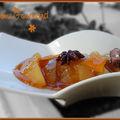 Pommes au vin moelleux et aux épices