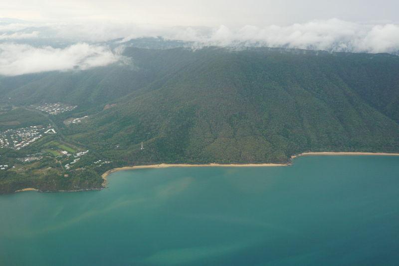 Arrivee a Cairns