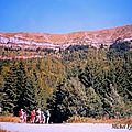 Randonnée pédestre face à l'obiou (2793m): le châtel ou
