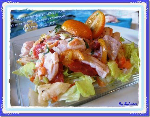 recettes saumon cru mariné 1