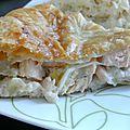 Tourte saumon/poireaux