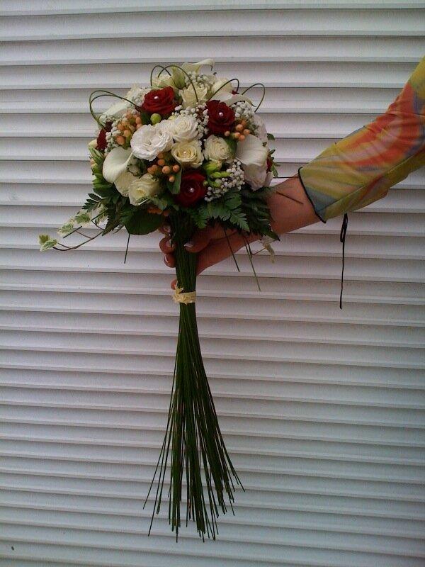 Romantique photo de mariage art floral for Auteur romantique
