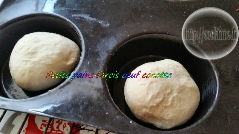 Petit pain farcis oeuf cocotte thermomix 1