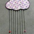 nuage et gouttes en boutons 2