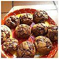 Cookies et pepites de chocolat