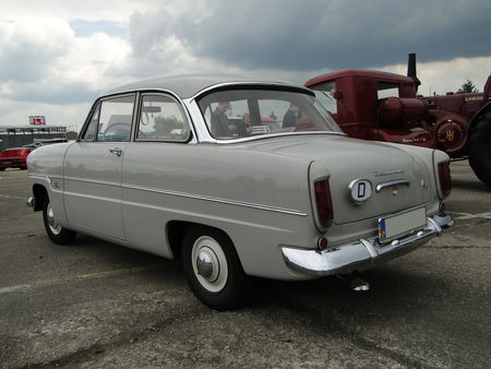 FORD Taunus P1 12M Berline 2 portes 1961 Motoren und Power Lahr 2010 2