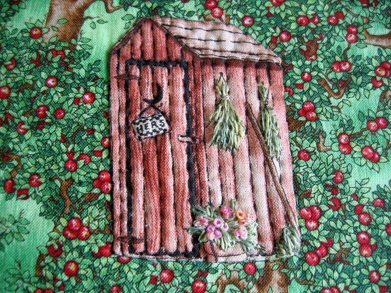 La cabane au fond du jardin les petits bonheurs de miss t - La cabane au fond du jardin ...
