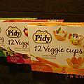 Veggie cups - pidy