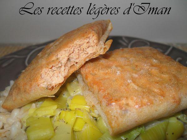 Ebly, poireaux et croustillant saumon 3