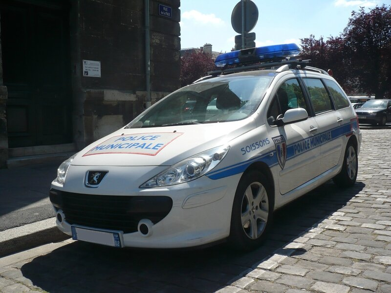 PEUGEOT 307 SW Police Municipale Soissons (1)