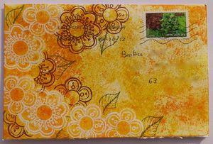 Mail Art Mumu 1 Octobre 2012