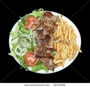 stock-photo-plateful-of-fast-food-gyros-doner-kebab-19373692