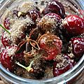 Cerises au vinaigre