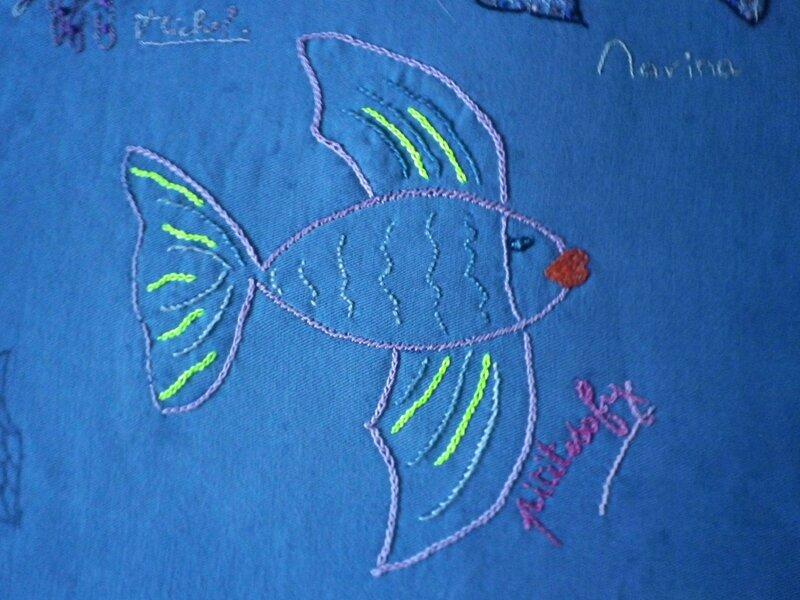 poisson brodé1