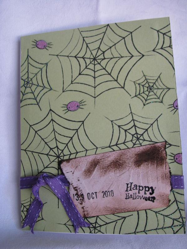 carte Halloween 2010