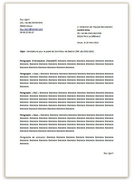 Forme De Lettre De Motivation Demande Lettre Serrurier13015