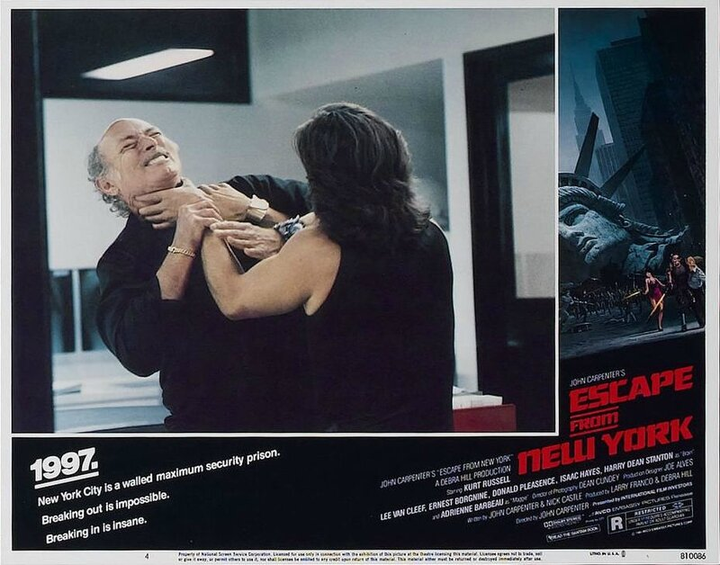 Escape from New York lobby card 6