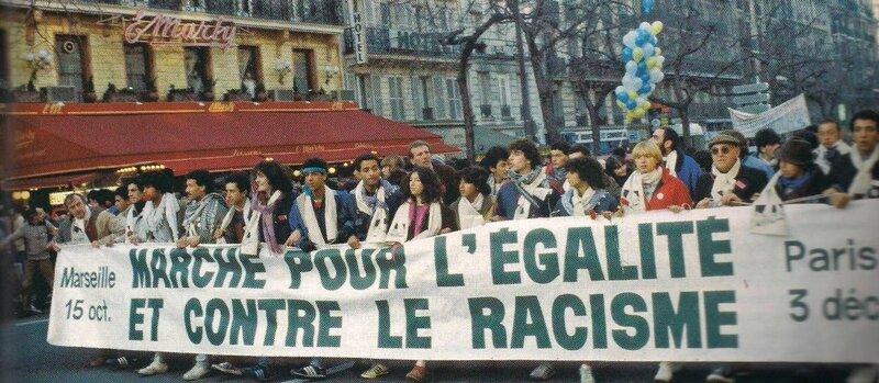 photo marche antirasciste 1983