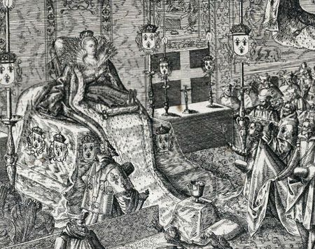 Effigie de Marguerite en 1615