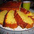 Cake au citron et clémentine