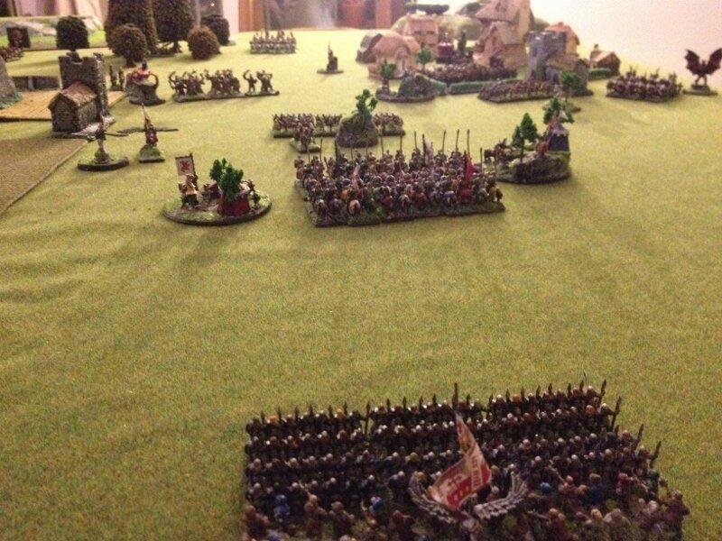 Rapport de bataille Bretonnie chaos 2000 points 103370683