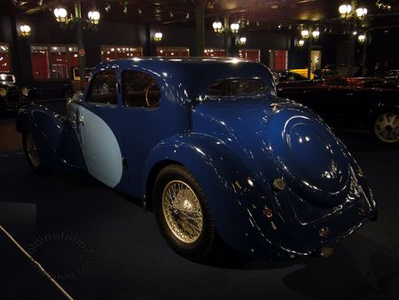 bugatti type 57 coach 1937 Musee National de l'Automobile de Mulhouse collection Schlumpf 2
