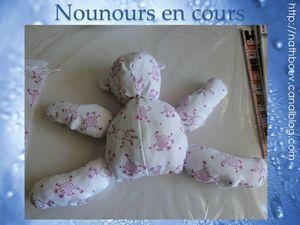 46 nounours rose